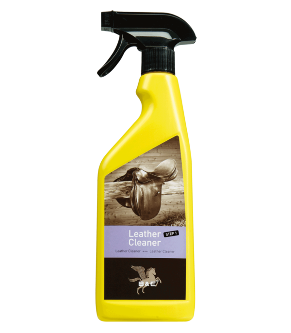 Leder einfach reinigen B & E Leather Cleaner - Step 1, 500 ml